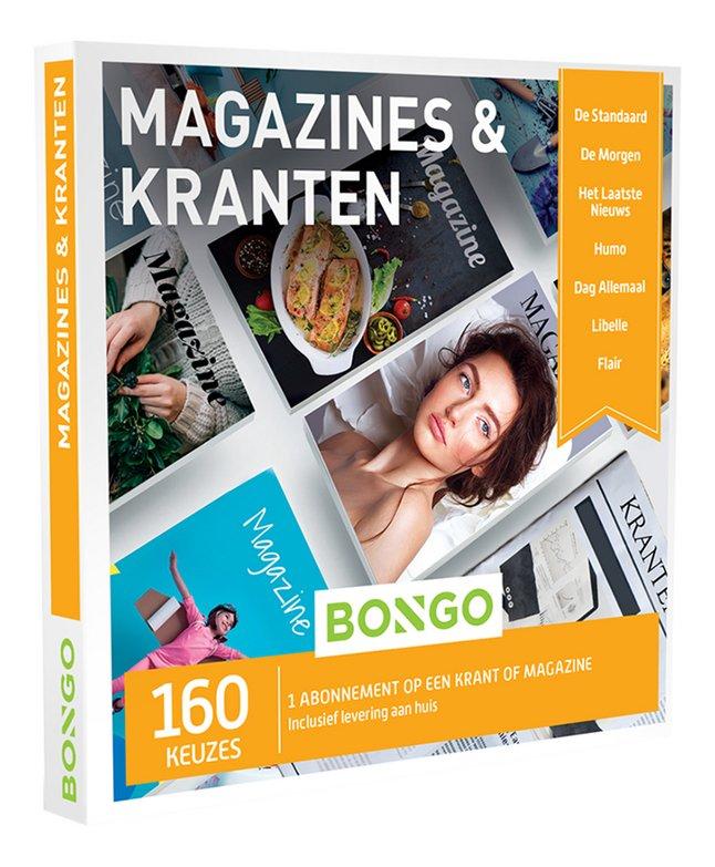 Afbeelding van Bongo cadeaubon Magazines & Kranten from ColliShop