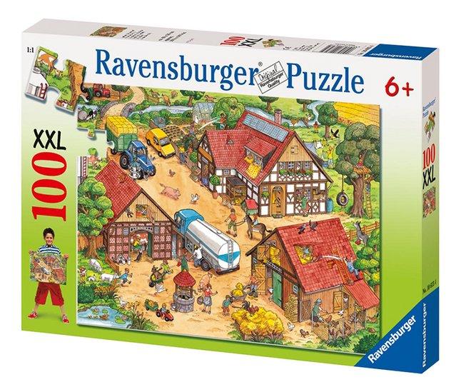 Afbeelding van Ravensburger puzzel Vrolijke boerderij from ColliShop