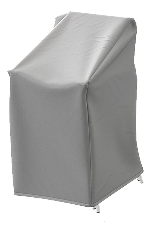 Afbeelding van AquaShield beschermhoes voor stapelstoelen polyester D 67 x B 67 x H 110 cm from ColliShop