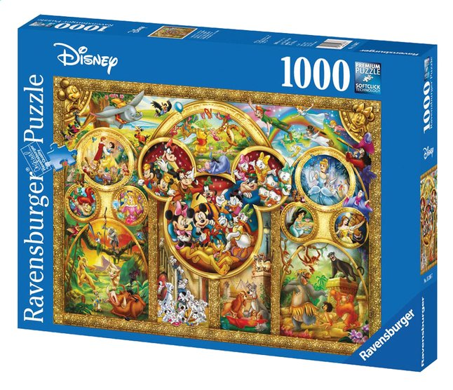 Image pour Ravensburger puzzle Les plus beaux thèmes Disney à partir de ColliShop