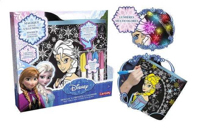 Image pour Lansay Mon sac lumineux à colorier Disney La Reine des Neiges à partir de ColliShop