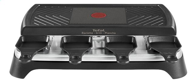 Image pour Tefal Gril-appareil à raclette Inox Design RE4598 - 8 personnes à partir de ColliShop