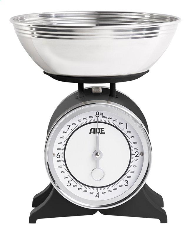 Image pour ADE Balance de cuisine mécanique Anna noir/inox à partir de ColliShop