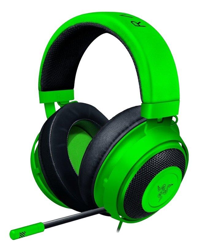 Razer headset Kraken groen