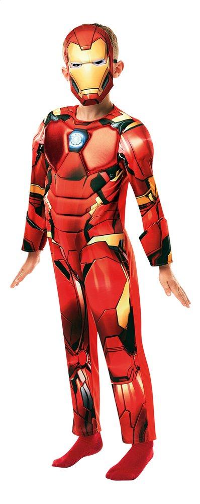 Afbeelding van Verkleedpak Iron Man Deluxe 9 - 10 jaar from ColliShop