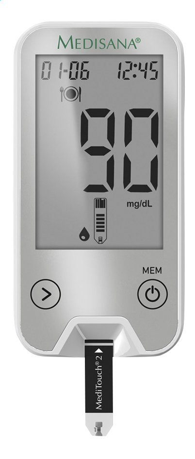 Afbeelding van Medisana Glucosemeter MediTouch 2 Connect from ColliShop