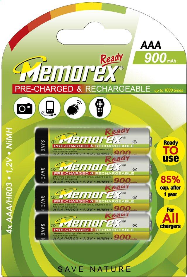 Image pour Memorex 4 piles AAA Ready rechargeable à partir de ColliShop