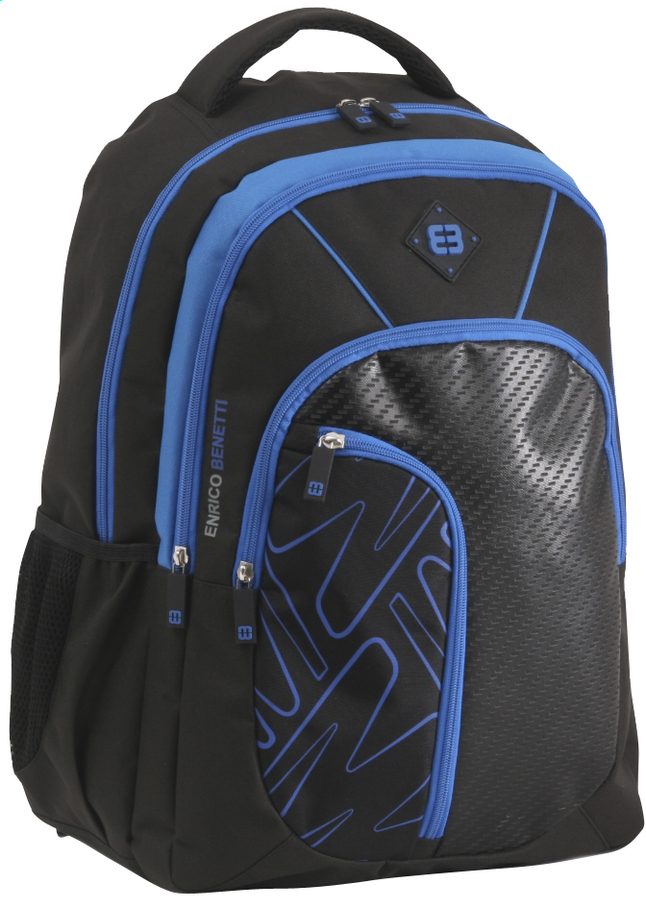 Image pour Enrico Benetti sac à dos School Black/Cobalt à partir de ColliShop