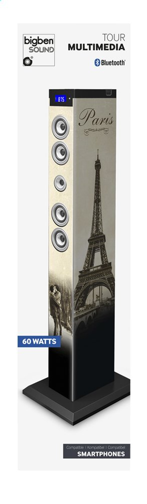 Afbeelding van bigben multimediatoren bluetooth TW9 Paris 2 from ColliShop