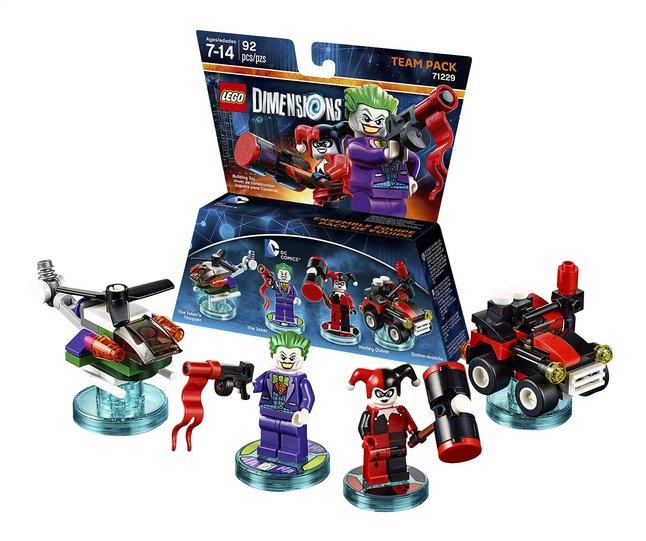 Image pour LEGO Dimensions figurine Team Pack DC Comics 71229 Joker et Harley Quinn à partir de ColliShop