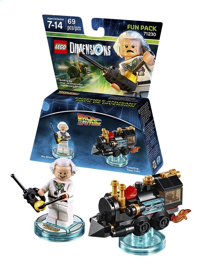 Afbeelding van LEGO Dimensions Figuur Fun Pack Back To The Futur 71230 Doc Brown from ColliShop