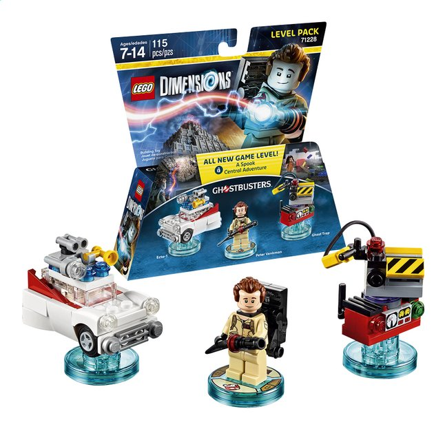 Afbeelding van LEGO Dimensions figuur Level Pack Ghostbuster 71228 Peter Venkman from ColliShop