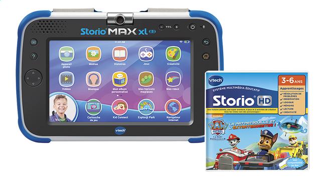 VTech tablette Storio MAX XL 2.0 bleu + Pat' Patrouille