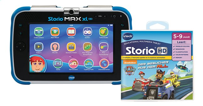Afbeelding van VTech Tablet Storio MAX XL 2.0 + Paw Patrol from ColliShop