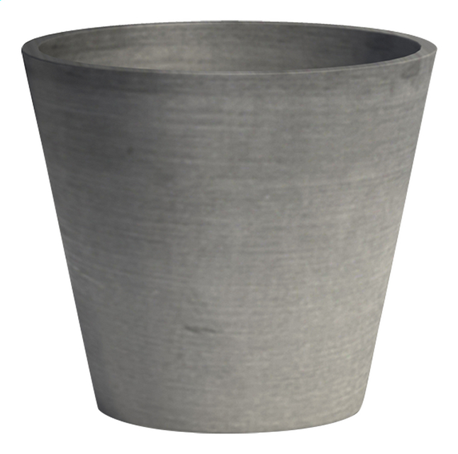 Afbeelding van Ecopot's Ronde bloempot Amsterdam grey diameter 30 cm from ColliShop