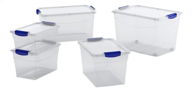 Keter Kis Opbergbox Omni Latch Box 11 l - 5 stuks
