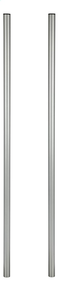 Image pour Practo Garden Double piquet pour boîte aux lettres gris argenté à partir de ColliShop