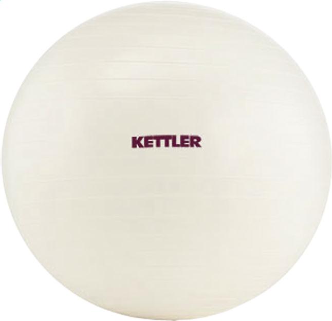 Image pour Kettler balle de gymnastique blanc 65 cm à partir de ColliShop