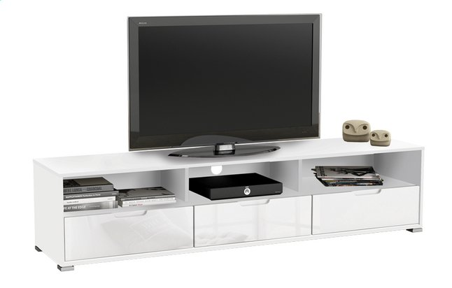 Afbeelding van Demeyere Meubles Tv-kast Clio wit decor from ColliShop