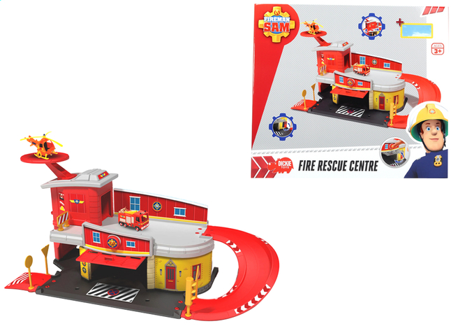 Afbeelding van Dickie Toys set Brandweerman Sam Fire Rescue Centre from ColliShop