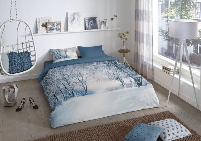 Image pour Good Morning Housse de couette Winter flanelle 200 x 220 cm à partir de ColliShop