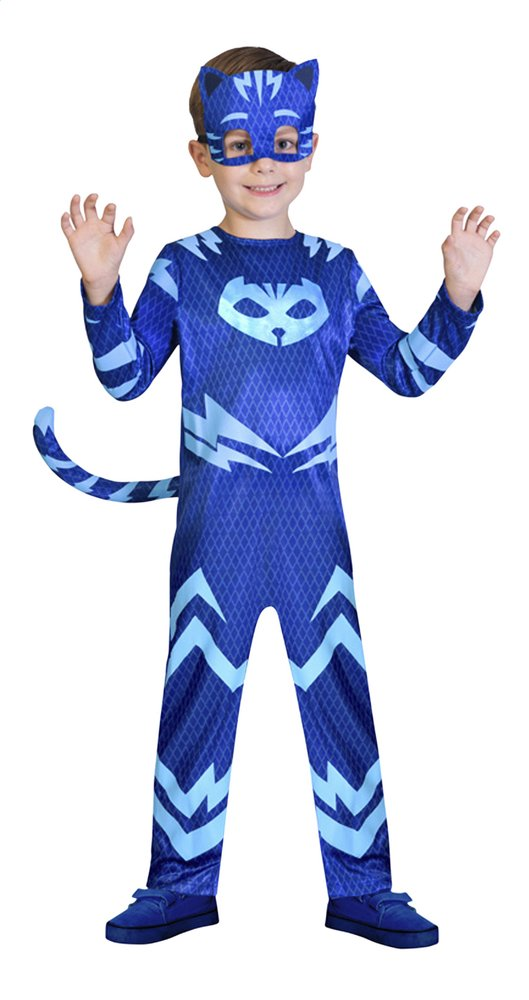 Afbeelding van Verkleedpak PJ Masks Catboy maat 110/116 from ColliShop