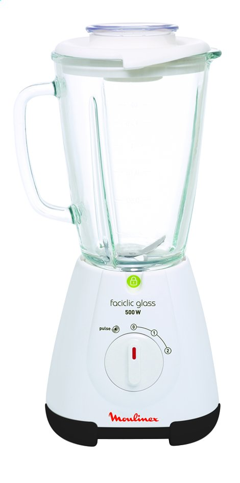 Afbeelding van Moulinex blender Faciclic Glass LM3101 - 500 W from ColliShop