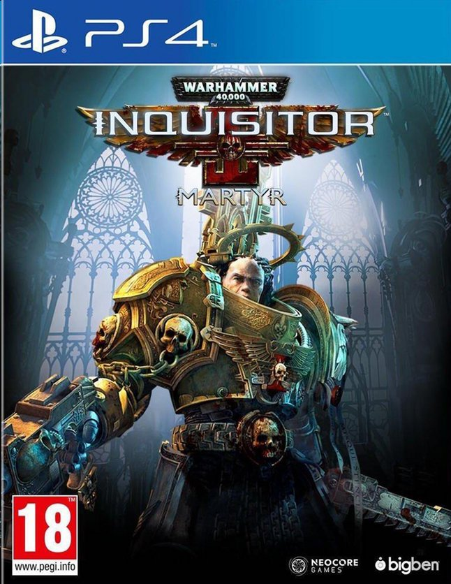 Afbeelding van PS4 Warhammer 40K Inquisitor Martyr ENG/FR from ColliShop
