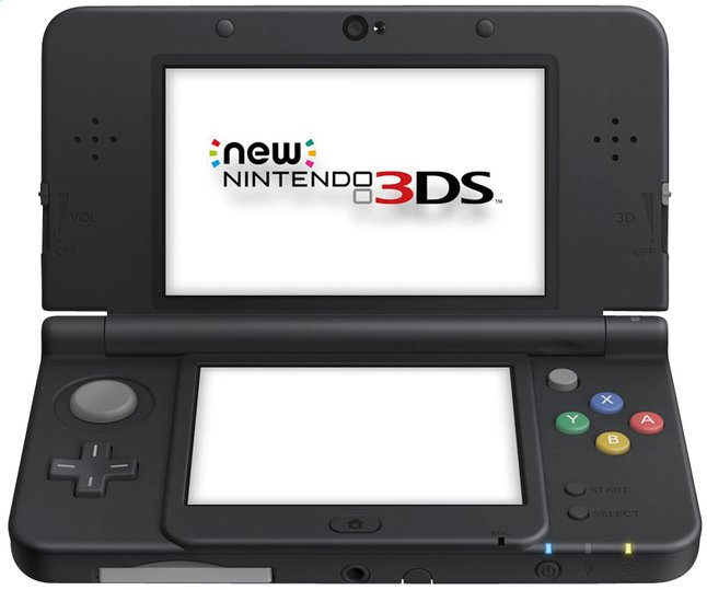 Afbeelding van New Nintendo 3DS console zwart from ColliShop