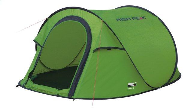 Afbeelding van High Peak Pop-uptent Vision 3 groen/donkergrijs from ColliShop