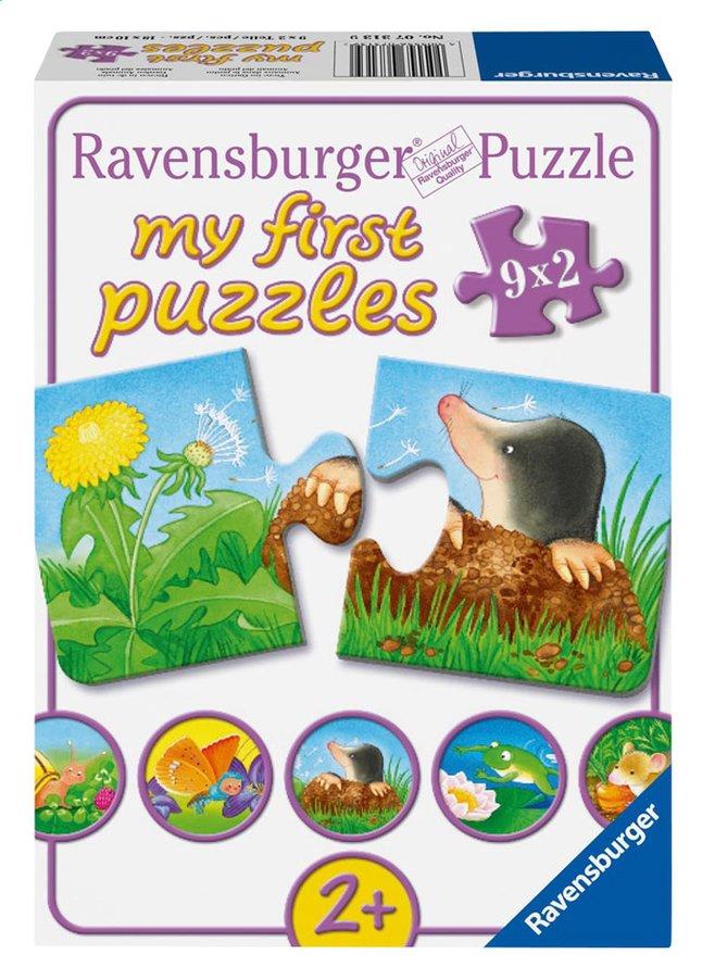 Image pour Ravensburger 9 puzzles Animaux dans le jardin à partir de ColliShop