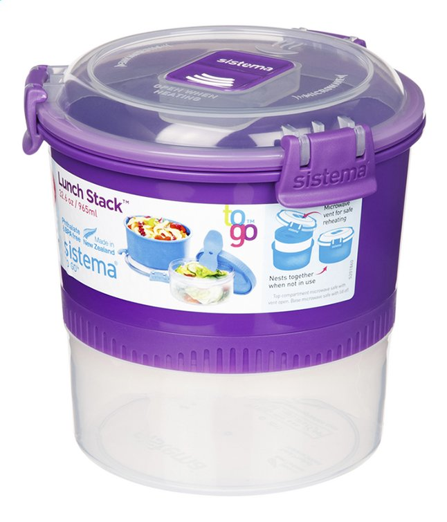 Sistema Lunchbox To Go Stack 0,965 l