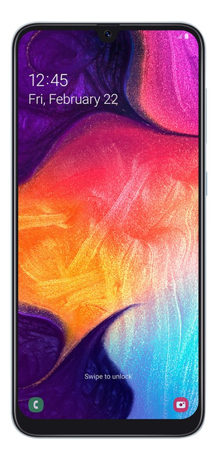Afbeelding van Samsung Smartphone Galaxy A50 128 GB wit from ColliShop