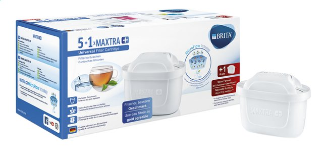 Afbeelding van Brita Filterpatroon Maxtra+ - 5 + 1 gratis from ColliShop
