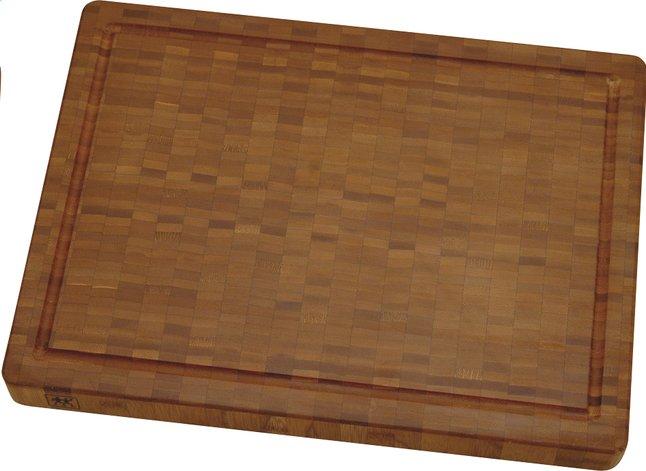 Image pour Zwilling planche à découper brun clair 42 x 31 cm à partir de ColliShop