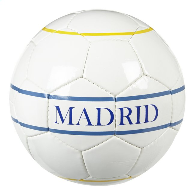 Image pour Ballon de football Real Madrid taille 5 à partir de ColliShop