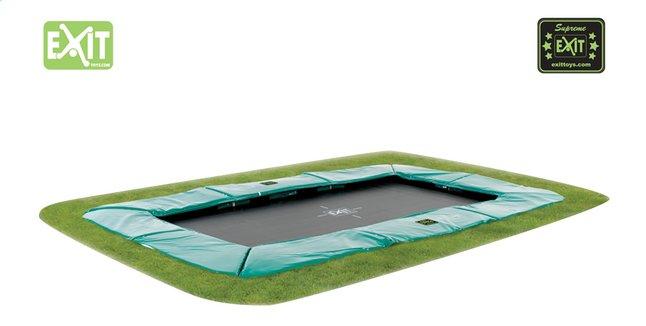 Image pour EXIT trampoline enterré Supreme Ground 214 x 366 cm vert à partir de ColliShop