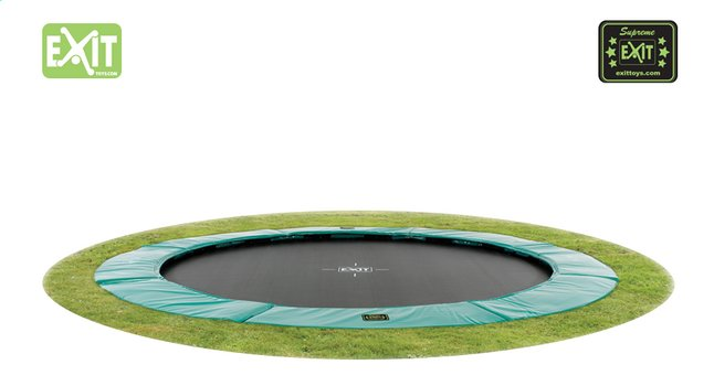 Afbeelding van EXIT inbouwtrampoline Supreme Ground diameter 3,66 m from ColliShop