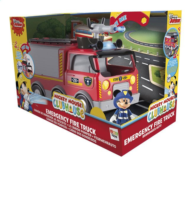 Afbeelding van Speelset Mickey Mouse Clubhouse Emergency Fire truck from ColliShop