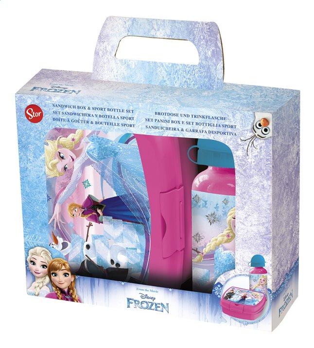 Image pour Boîte à tartines et gourde Disney La Reine des Neiges à partir de ColliShop