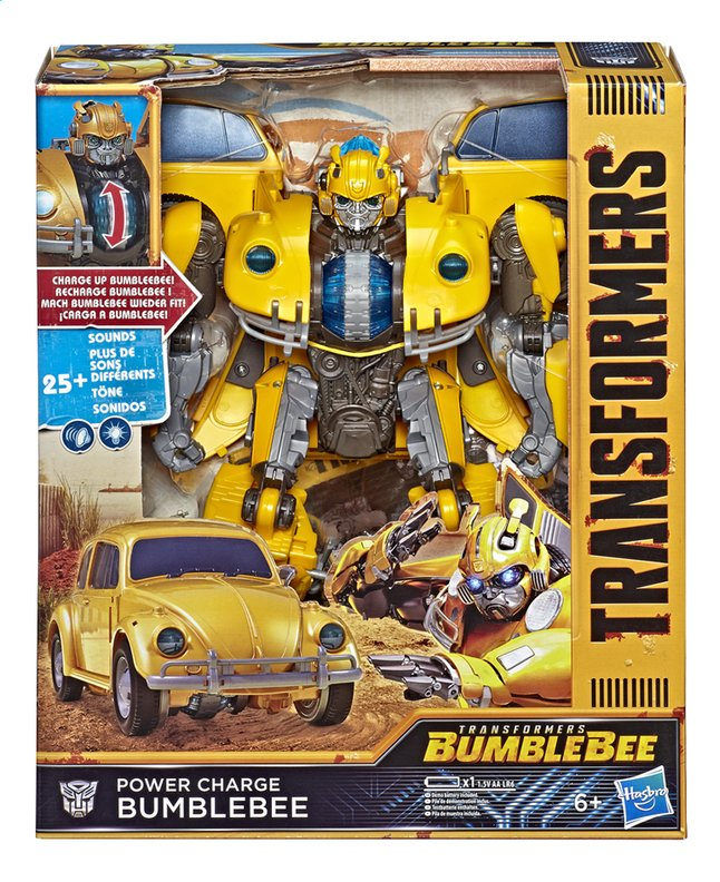 Afbeelding van Transformers robot Power Charge Bumblebee from ColliShop