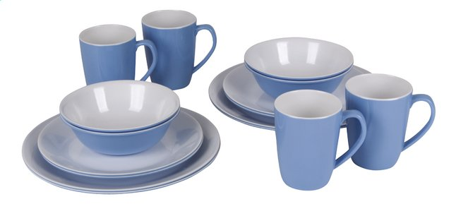 Afbeelding van Bo-Camp 16-delig servies melamine from ColliShop