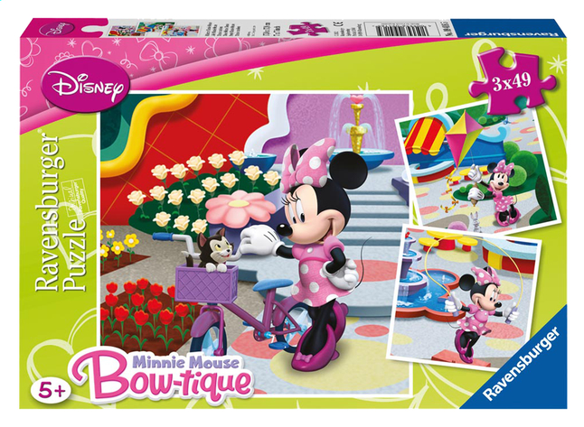 Afbeelding van Ravensburger 3-in-1 puzzel Mooie Minnie Mouse from ColliShop