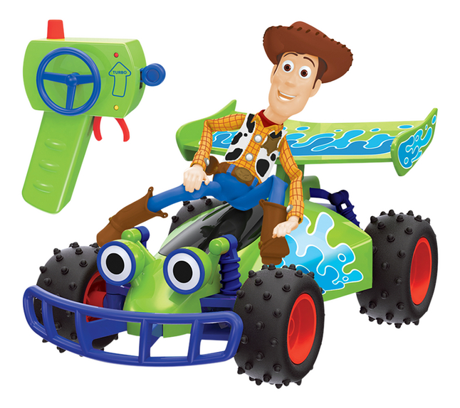 Afbeelding van Dickie Toys Toy Story 4 RC Turbo Buggy Woody from ColliShop