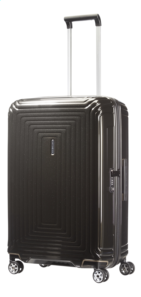 Image pour Samsonite Valise rigide Neopulse Spinner metallic black à partir de ColliShop