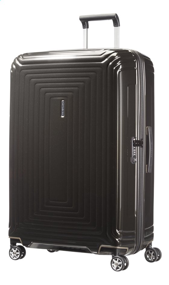 Image pour Samsonite Valise rigide Neopulse Spinner metallic black 81 cm à partir de ColliShop