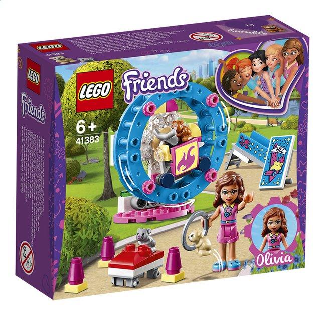 Image pour LEGO Friends 41383 L'aire de jeu du hamster d'Olivia à partir de ColliShop