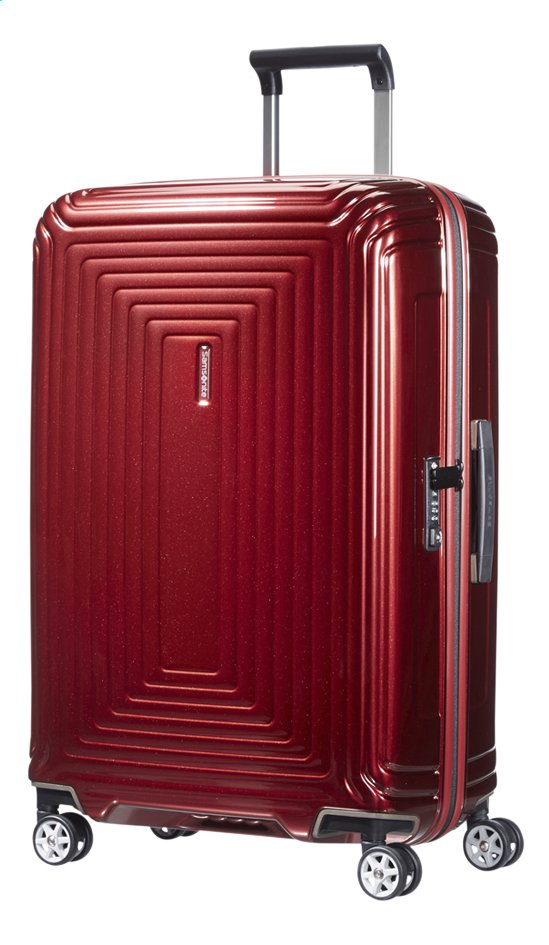 Afbeelding van Samsonite Harde reistrolley Neopulse Spinner metallic red 69 cm from ColliShop