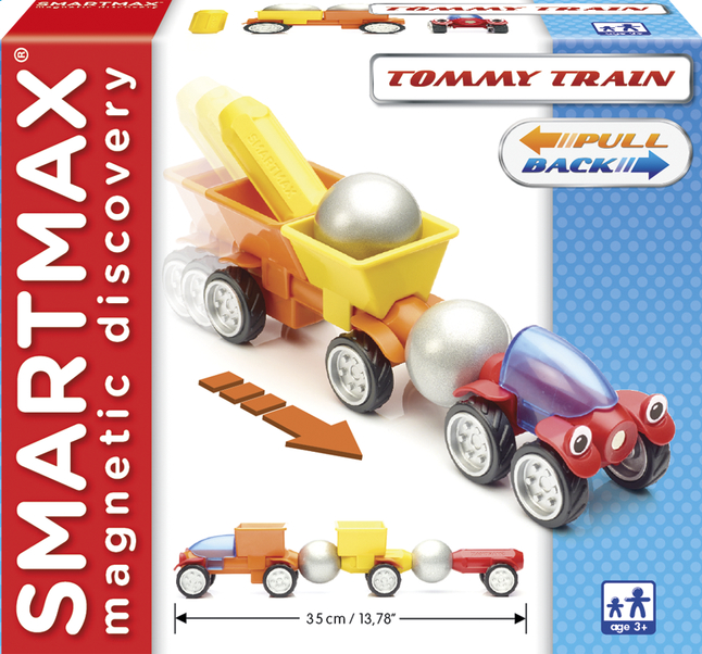 Image pour SmartMax Tommy Train à partir de ColliShop