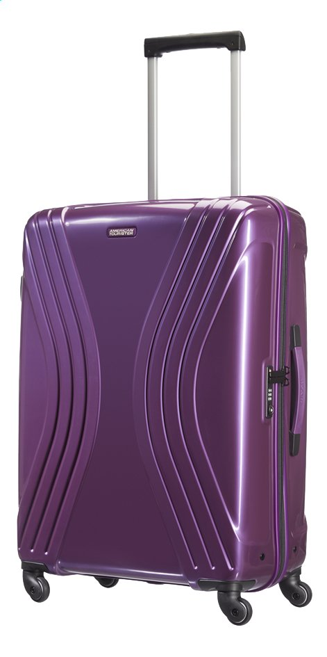 Afbeelding van American Tourister Harde reistrolley Vivotec Spinner purple 75 cm from ColliShop